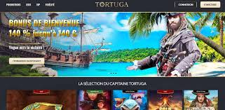 tortuga casino interface